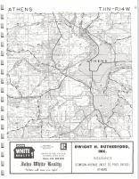 Athens T11N-R14W, Athens County 1975